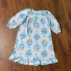 2T Frozen Girl Nightgown